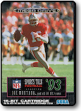 gameSports Talk Football 93 starring Joe Montana and all 28 NFL
