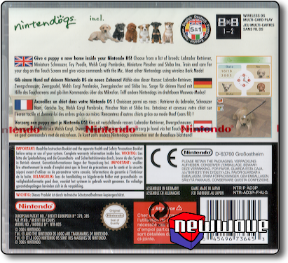 Nintendogs Lab and Friends background