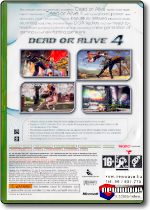 Dead Or Alive 4 background