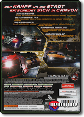 Need For Speed Carbon background
