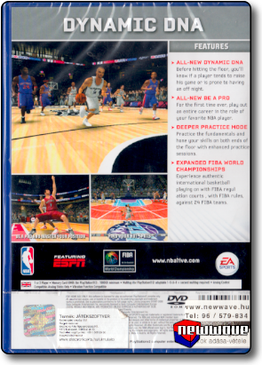 NBA Live 09 background