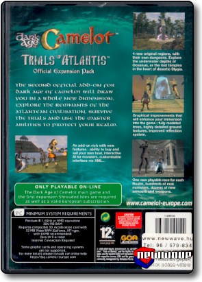 Dark Age Of Camelot Trials Of Atlantis background